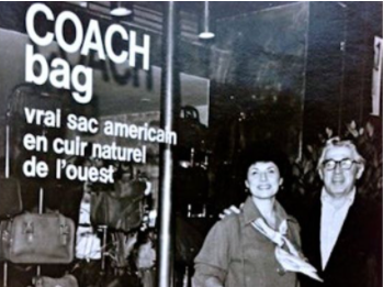 "What is the history of the ""Coach"" brand"