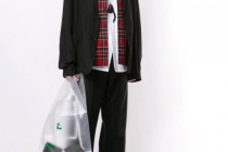 "Plastic bags from ""Yohji Yamamoto"""